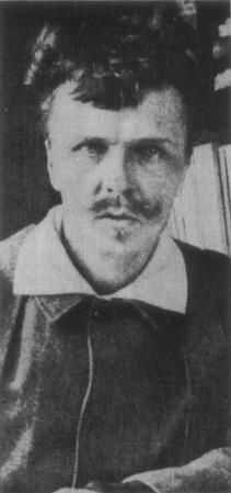 August Strindberg in 1886