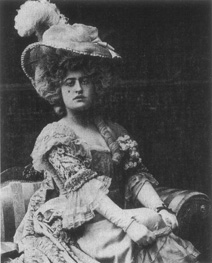 Constance Collier in an early-twentieth century production of School for Scandal