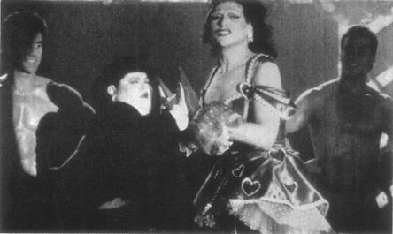 Playwright Fierstein as Arnold Beckoffin his alter ego, drag queen Virginia Hamm