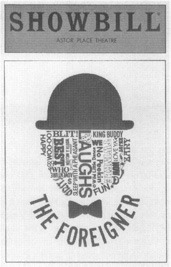A Showbill from Shues play