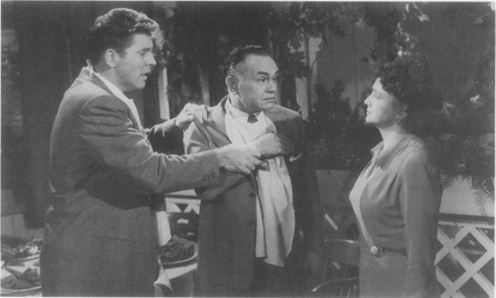 A scene from the film adaptation of All My Sons