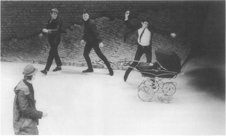 The center of the controversy surrounding Bonds play: Barry, Pete, Fred, and others stone the baby to death in its carriage