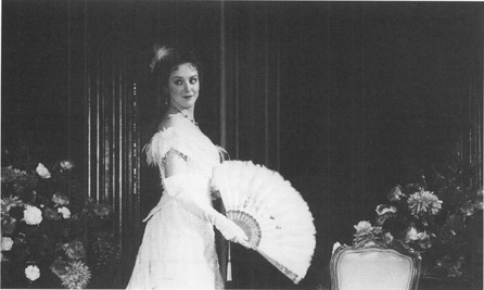 Rebecca Johnson in the title role of Lady Windermeres Fan.