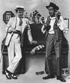 Jack Lemmon and Walter Matthau star in the 1974 version of The Front Page