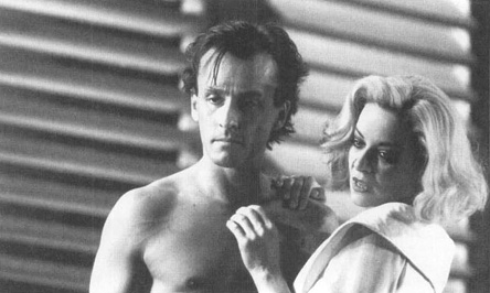 Robert Knepper and Clare Higgins in a scene from a production of Sweet Bird of Youth at Londons Royal National Theatre.
