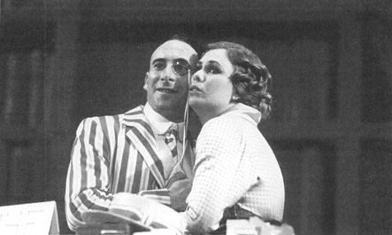 A scene from the 1993 production of Tom Stoppards Travesties