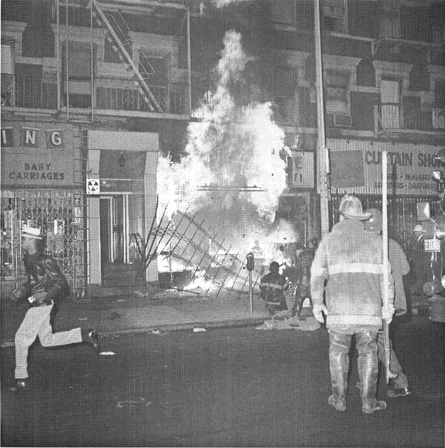 The Harlem race riots in the late 1960s provide the setting for Wme in the Wilderness