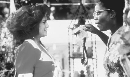 Holly Hunter and Alfre Woodard in a 1989 film version of The Miss Firecracker Contest