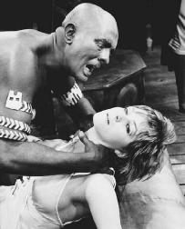 Jack Good and Sharon Gurney in a 1970 production of Othello