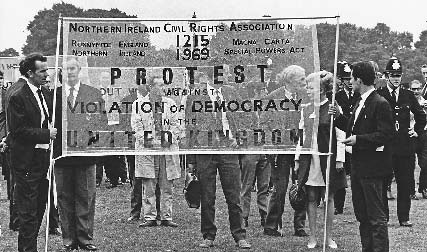 1968 march for Northern Ireland's civil rights