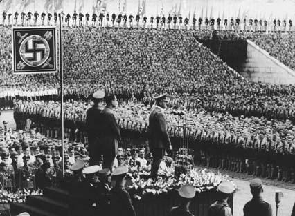 Nazi Germany dictator Adolf Hitler