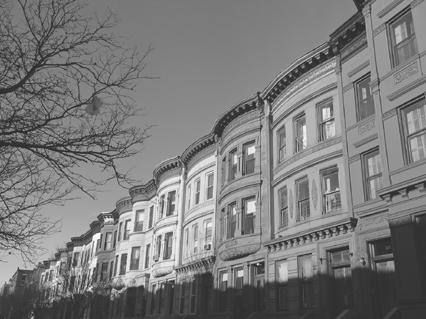 The Harlem district of New York City