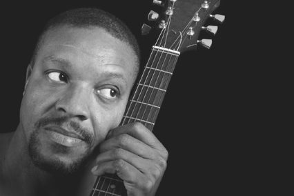 Robert Johnson played the blues guitar