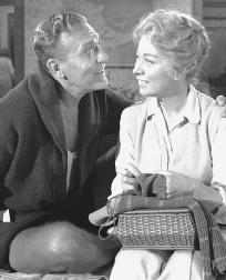 A scene from the 1960 film adaptation of Sunrise at Campobello, starring Ralph Bellamy and Greer Garson