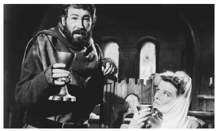 Peter OToole and Catherine Hepburn in the 1968 film adaptation of The Lion in Winter
