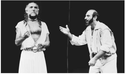 Ben Kingsley as Othello and David Suchet as Iago in a scene from William Shakespeares Othello