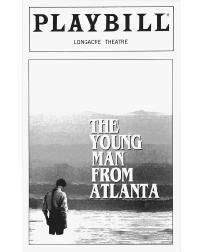 Playbill cover for The Young Man from Atlanta performed at the Longacre Theatre in 1997
