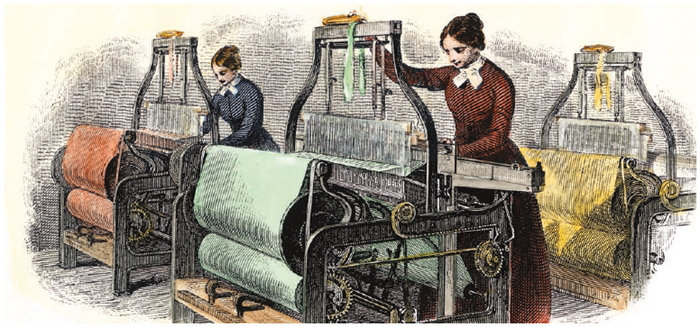 Girls in textile mills worked with the windows closed even in summer to provide ideal conditions for making thread.