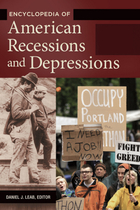 Encyclopedia of American Recessions and Depressions, ed. , v.