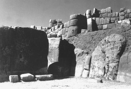 Ruins of Sacsahuaman near Cuzco, Peru. The Library of Congress.