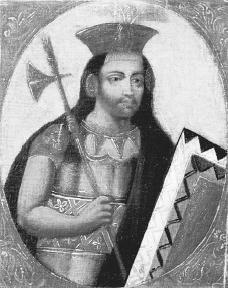 Portrait of Huayna Capac, Inca emperor. The Art Archive/Museo Pedro de Osma Lima/Mireille Vautier.