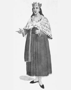 An Inca aclla, or chosen woman. The Spanish called acllas Virgins of the Sun. The Art Archive/Bibliothque des Arts Dcoratifs Paris/Dagli Orti (A).