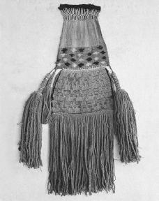 Incas were highly skilled in weaving textiles, such as this cacao bag with a llama pattern. The Art Archive/Archaeological Museum Lima/Dagli Orti.