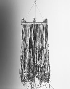 A quipu, or Inca accounting device.  Werner Forman/Corbis.