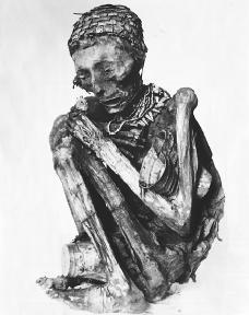 An Inca mummy.  Bettmann/Corbis.