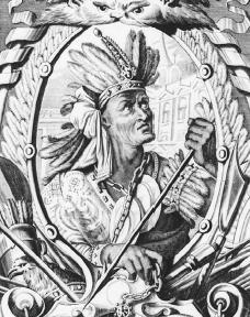 Portrait of Atahuallpa, Sapa Inca.  Bettmann/Corbis.