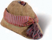 A tropical pith helmet - worn by the Scottish missionary David Livingstone (181373) as he explored Africa.