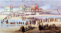 The Suez Canal, - one of Ismail Pashas hugely ambitious projects, was opened by French Empress Eugenie in November 1868.