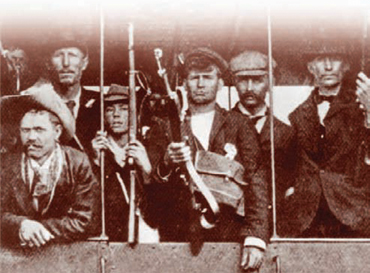 Guerrilla detachments - drawn from the Boer farming community managed to hold off the British for almost two years between 1900 and 1902.