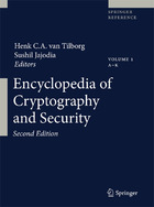 Encyclopedia of Cryptography and Security, ed. 2, v.
