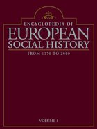 Encyclopedia of European Social History, ed. , v.