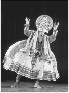 Kathakali Performance, Kerala Dance Form. Contemporary Kathakali dancer, Kerala. Besides Bharata Natyam (the oldest form of classical dance in India), seven regional forms exist, including Kathakali on the southwest coast. Each has its own tech