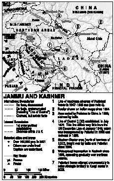 Indias View of the Disputed Territory of Jammu and Kashmir