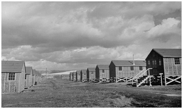 Tule Lake concentration camp was the place of segregation, a riot, military rule, and a prison within a prison. (Time Life Pictures/Getty Images)