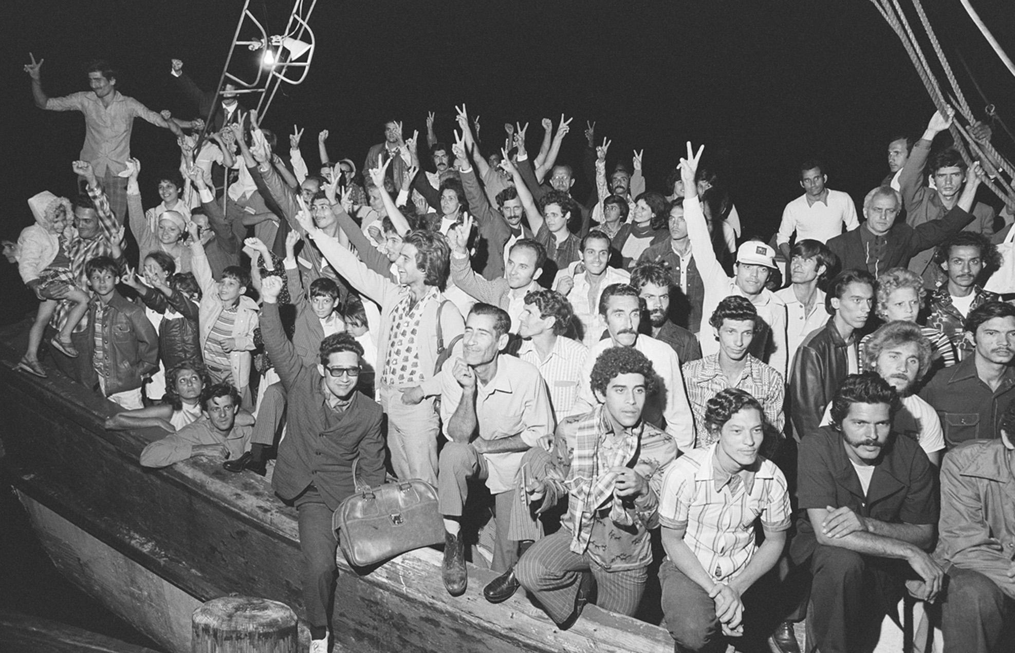 The Mariel boatlift, 1980.