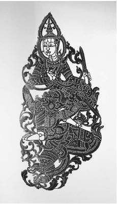 A Buddhist puppet used in Thai drama. (WERNER FORMAN/CORBIS)
