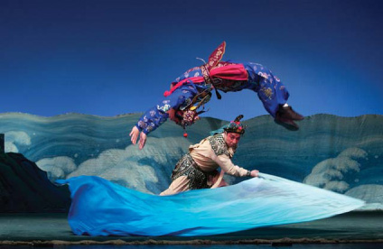A visiting production of The Legend of the White Snake by the National Beijing Opera Company of China, London, England.