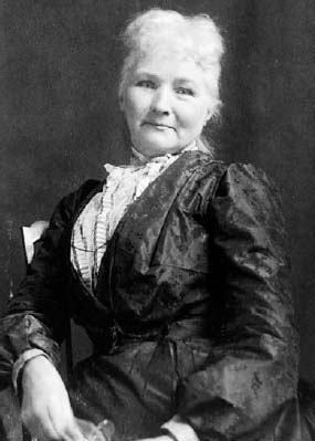 """The """"grandmother of all agitators"""" Mother Jones, labor leader and community activist, in 1902."""