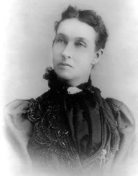 Mary Elizabeth Lease won fame and notoriety with her fiery speeches for the People's Party in the 1890s.