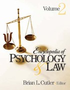 Encyclopedia of Psychology & Law, ed. , v.