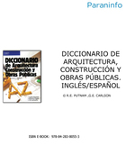 Diccionario de arquitectura, construcción y obras públicas, ed. 7