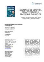Sistemas de control para vivendas y edificios, ed. 2