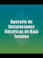 Operario de Instalaciones Eléctricas de Baja Tensión