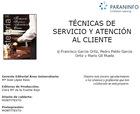 Técnicas de servicio y atención al cliente, ed. 2