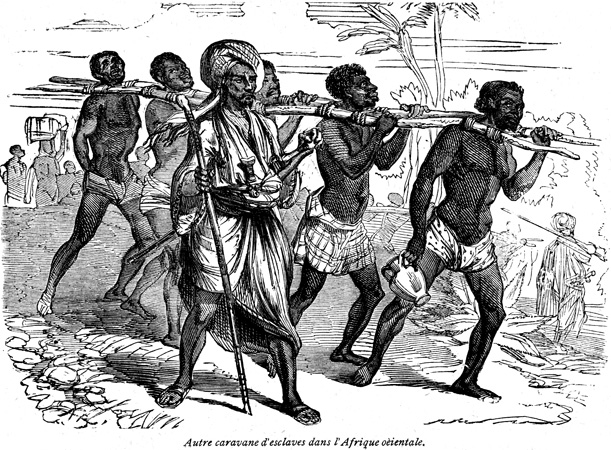 Arab Slave Trader. The Arab slave trade from East Africa