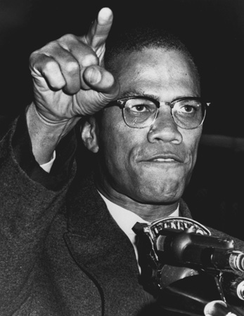 Malcolm X. Malcolm X was legendary during his lifetime.